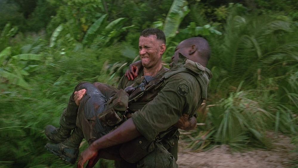 """تام هنکس در نمایی از فیلم """"فارست گامپ"""""""