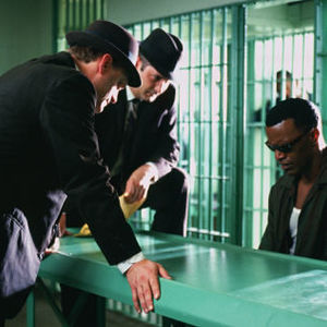 """جیمی فاکس در نمایی از فیلم """"ری"""""""