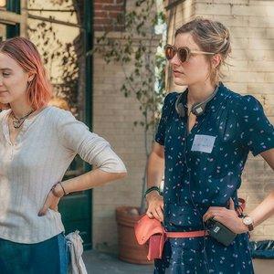 """سیرشا رونان و  گرتا گرویگ در نمایی از فیلم """"لیدی برد"""""""