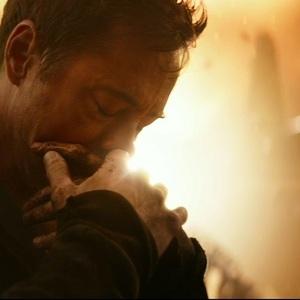 """رابرت داونی جونیور در نمایی از فیلم"""" انتقام جویان-جنگ ابدیت"""""""