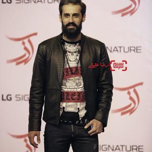 سعید معروف در اکران خصوصی فیلم «آذر»