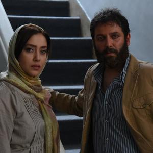 امیررضا دلاوری و بهاره کیان افشار در فیلم کوتاه «حضور مخفی یک بیگانه»