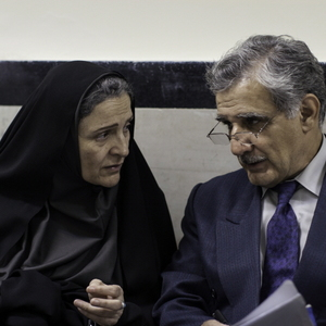 مهدی هاشمی و گلاب آدینه در فیلم قصه ها