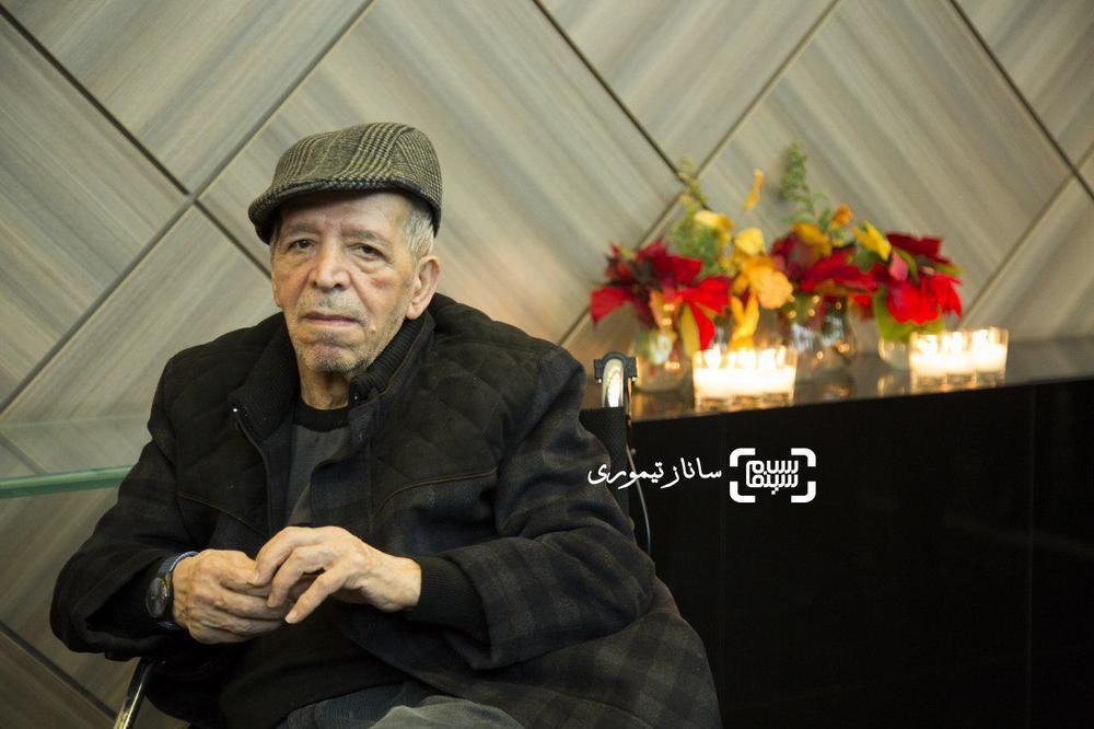 محسن قاضی مرادی در اکران خصوصی فیلم «خانه کاغذی»