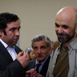 حبیب رضایی و حسن معجونی در فیلم قصه ها