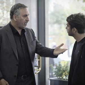 حمید فرخ نژاد و ساعد سهیلی در فیلم «لاتاری»