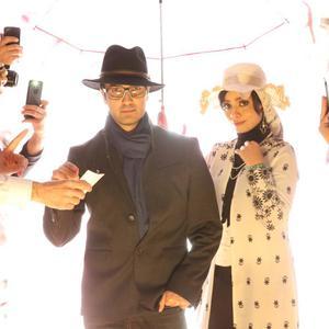 محمدرضا فروتن و صحرا اسدالهی در فیلم «آقای سانسور»