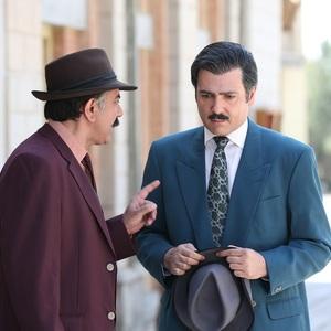 کوروش تهامی و محمدرضا هدایتی در قسمت چهارم سریال «آشوب»