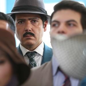 کوروش تهامی در قسمت چهارم سریال نمایش خانگی «آشوب»