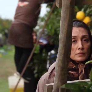 اولین تصویر از هدیه تهرانی در پشت صحنه فیلم «روزهای نارنجی»
