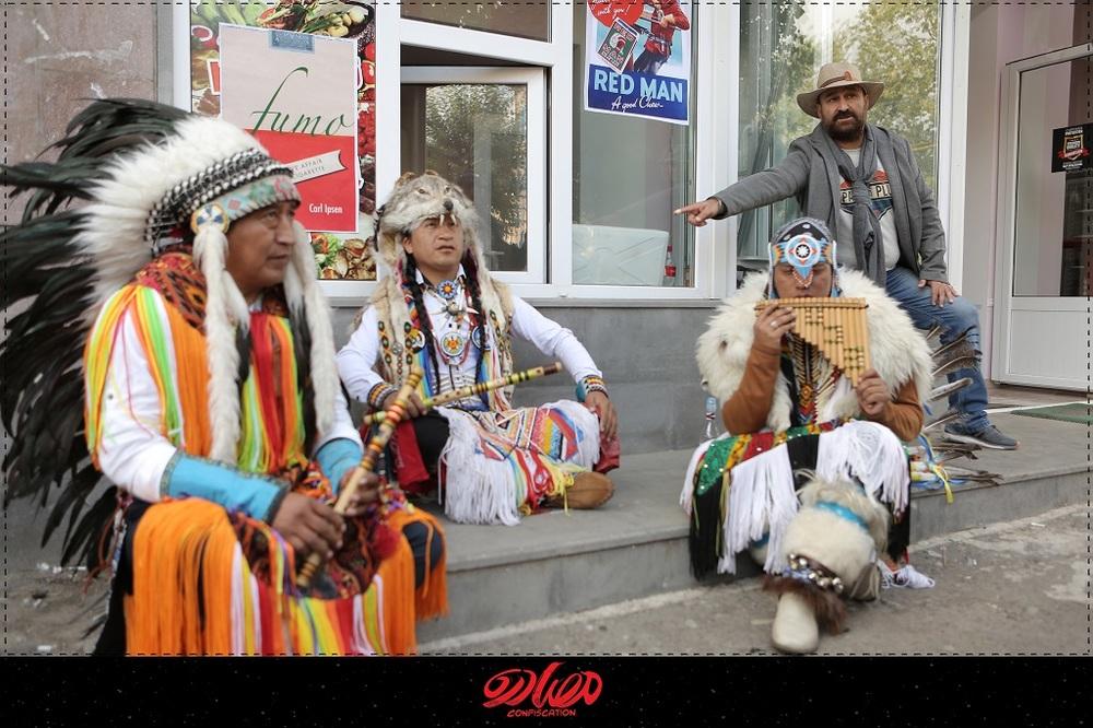 مهران احمدی در پشت صحنه فیلم سینمایی «مصادره»