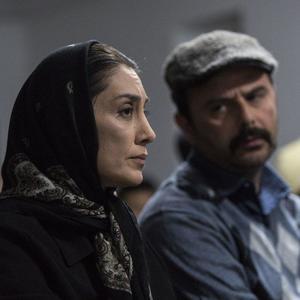 هدیه تهرانی و علی مصفا در فیلم «روزهای نارنجی»