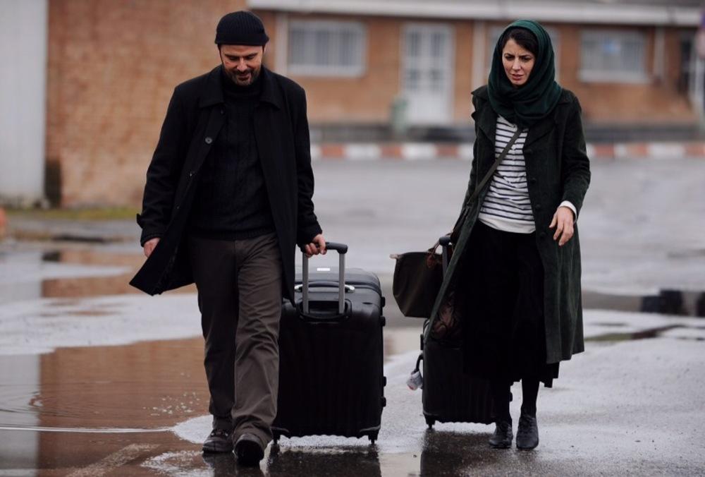 لیلا حاتمی و علی مصفا در فیلم در دنیای تو ساعت چند است