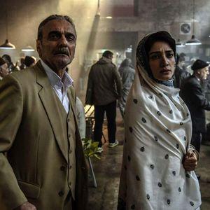 مینا ساداتی و همایون ارشادی در فیلم «سرو زیر آب»