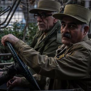 سیاوش چراغی پور و مسعود رایگان در فیلم «سرو زیر آب»