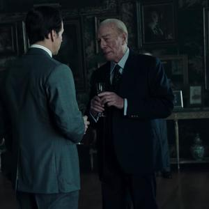 """مارک والبرگ و کریستوفر پلامر در فیلم"""" تمام پول های جهان"""""""
