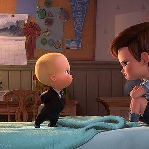 """نمایی از انیمیشن کمدی"""" بچه رئیس """""""