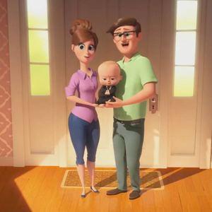 """نمایی از انیمیشن خانوادگی"""" بچه رئیس """""""