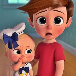 """نمایی از انیمیشن کمدی خانوادگی """" بچه رئیس """""""