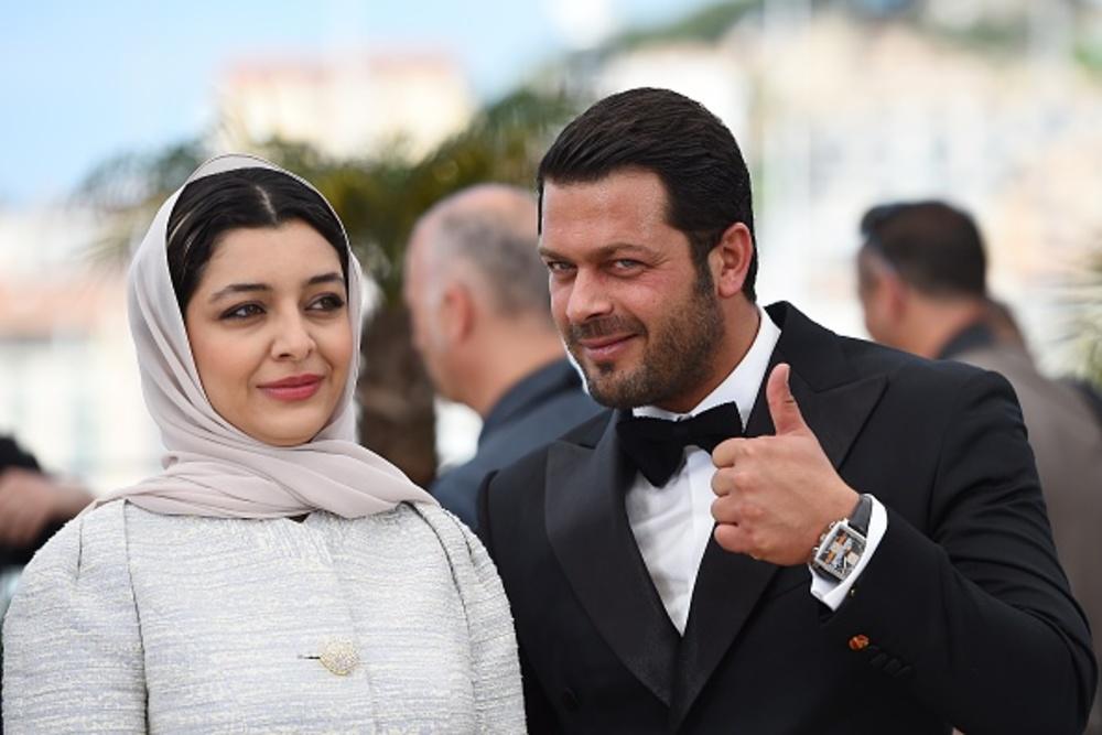 پژمان بازغی و ساره بیات در شصت و هشتمین جشنواره فیلم کن