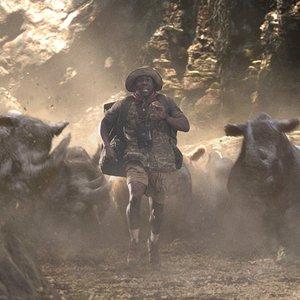 """کوین هارت در نمایی از فیلم سینمایی""""جومانجی: به جنگل خوش آمدید"""""""