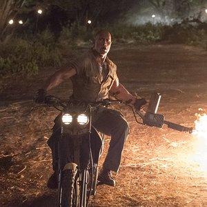 """دواین جانسون در فیلم ماجراجویی """"جومانجی: به جنگل خوش آمدید"""""""