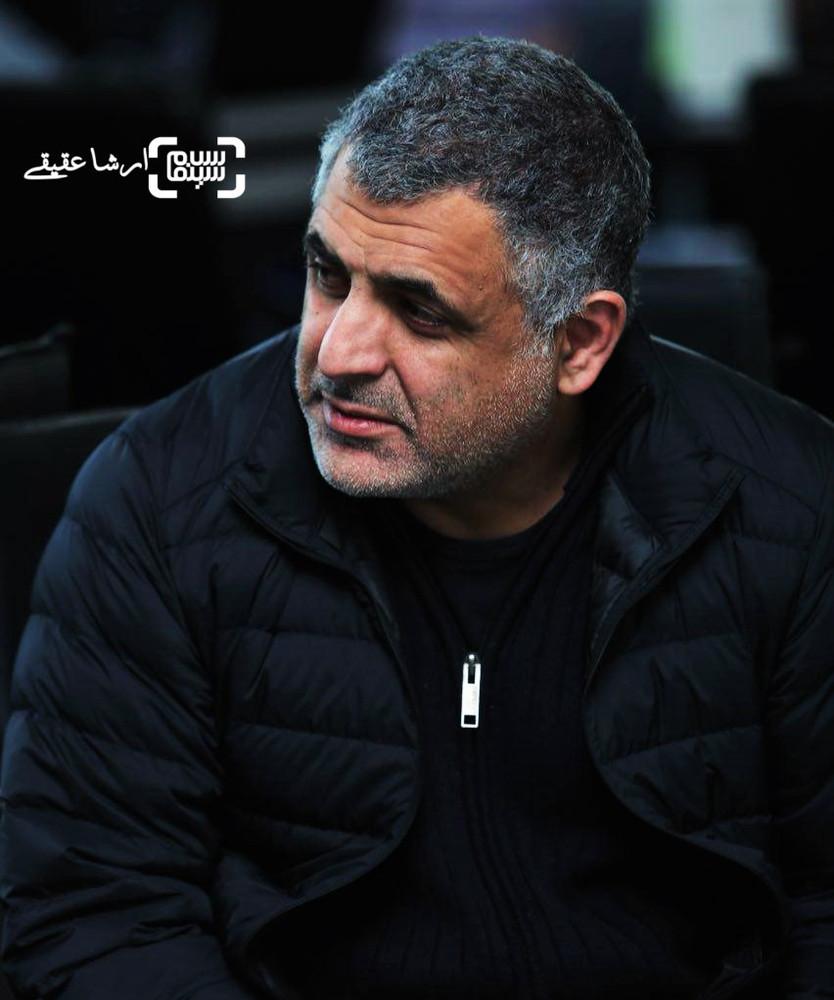 مانی حقیقی در قرعه کشی برنامه زمانی سینمای رسانه جشنواره فجر