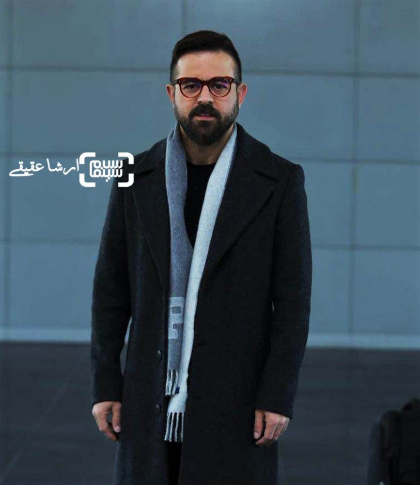 هومن سیدی در اولین قرعه کشی برنامه زمانی سینمای رسانه جشنواره فجر