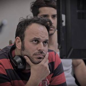 ساعد سهیلی و محمدحسین مهدویان در پشت صحنه فیلم «لاتاری»