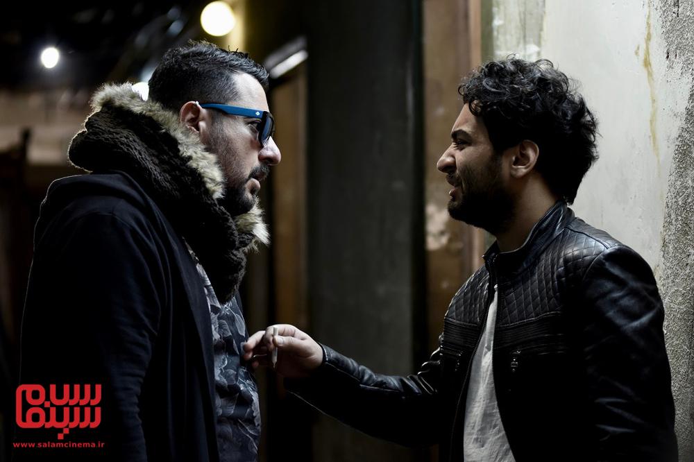 روزبه فدوی و محسن کیایی در فیلم «جشن دلتنگی»