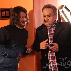 اکبر عبدی و علی صادقی در فیلم «عشقولانس»