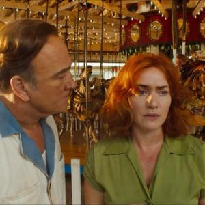 """کیت وینسلت و جیم بلوشی در فیلم """"چرخ شگفت انگیز"""""""