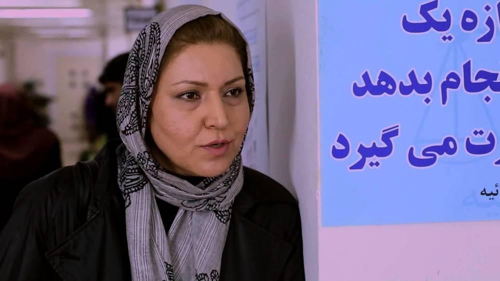 فریبا خادمی در فیلم حراج