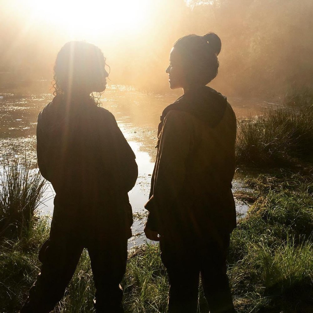 تسا تامپسون و جینا رادریگـِز در فیلم سینمایی  « نابودی »