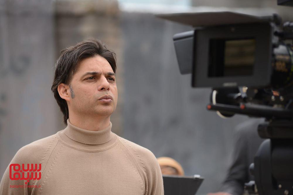 پیمان معادی در پشت صحنه فیلم سینمایی «بمب یک عاشقانه»