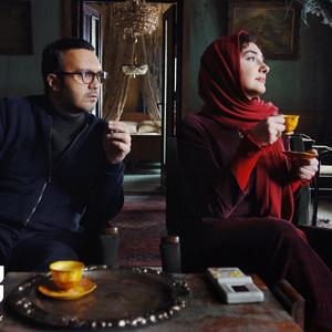کامبیز دیرباز و هانیه توسلی در فیلم «سوء تفاهم»