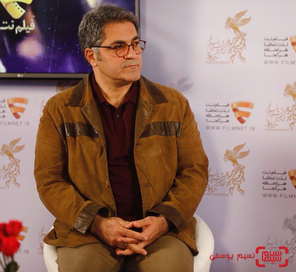 سیدامیر پروین حسینی در نشست خبری فیلم «خجالت نکش» در برنامه دو قدم تا سیمرغ در سینما ملت