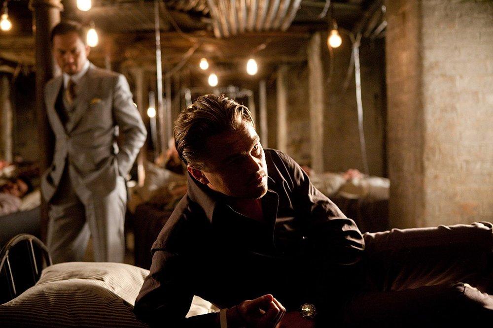 کِن واتانابه و لئوناردو دیکاپریو در فیلم ماجراجویی « تلقین »