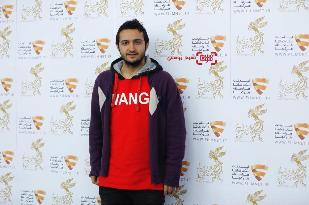 امیرحسین هاشمی در نشست خبری فیلم «لاتاری» در برنامه دو قدم تا سیمرغ در سینما ملت