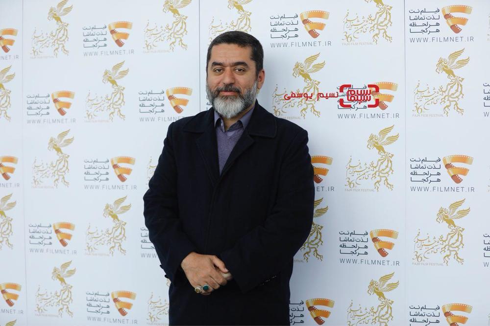 سیدمحمود رضوی در نشست خبری فیلم «لاتاری» در برنامه دو قدم تا سیمرغ در سینما ملت