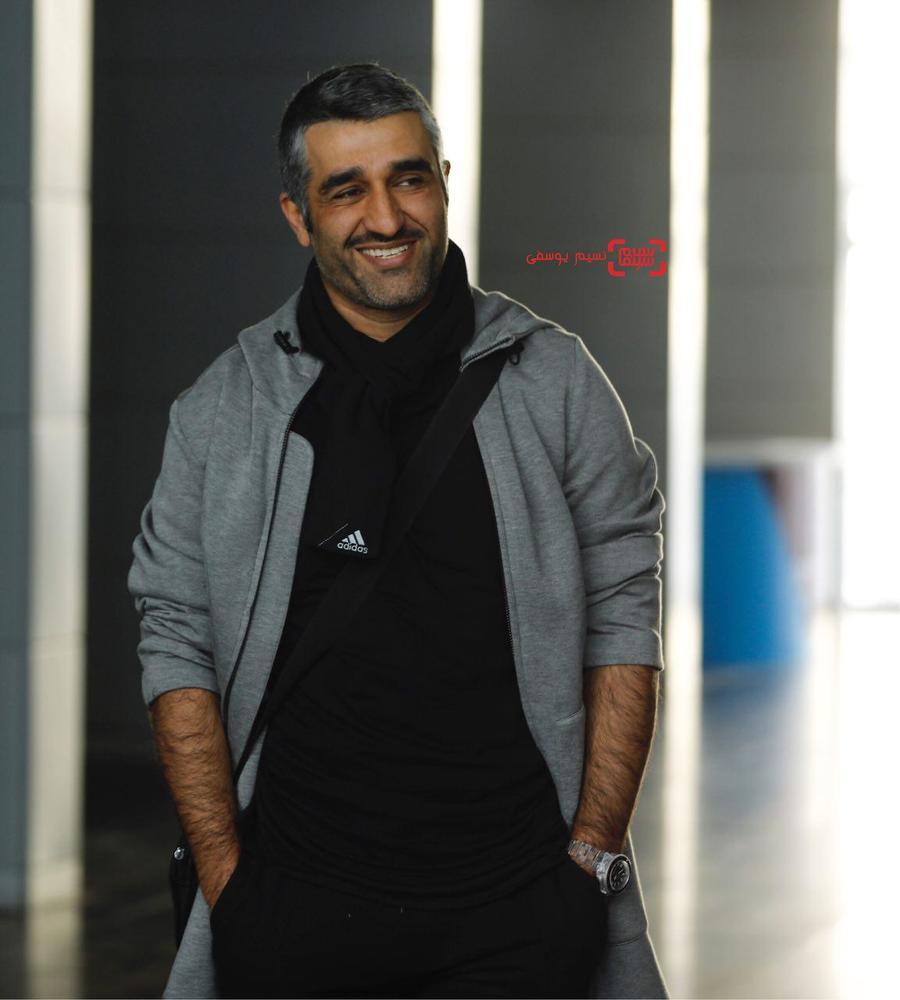 پژمان جمشیدی در نشست خبری «سوء تفاهم» در برنامه دو قدم تا سیمرغ در سینما ملت