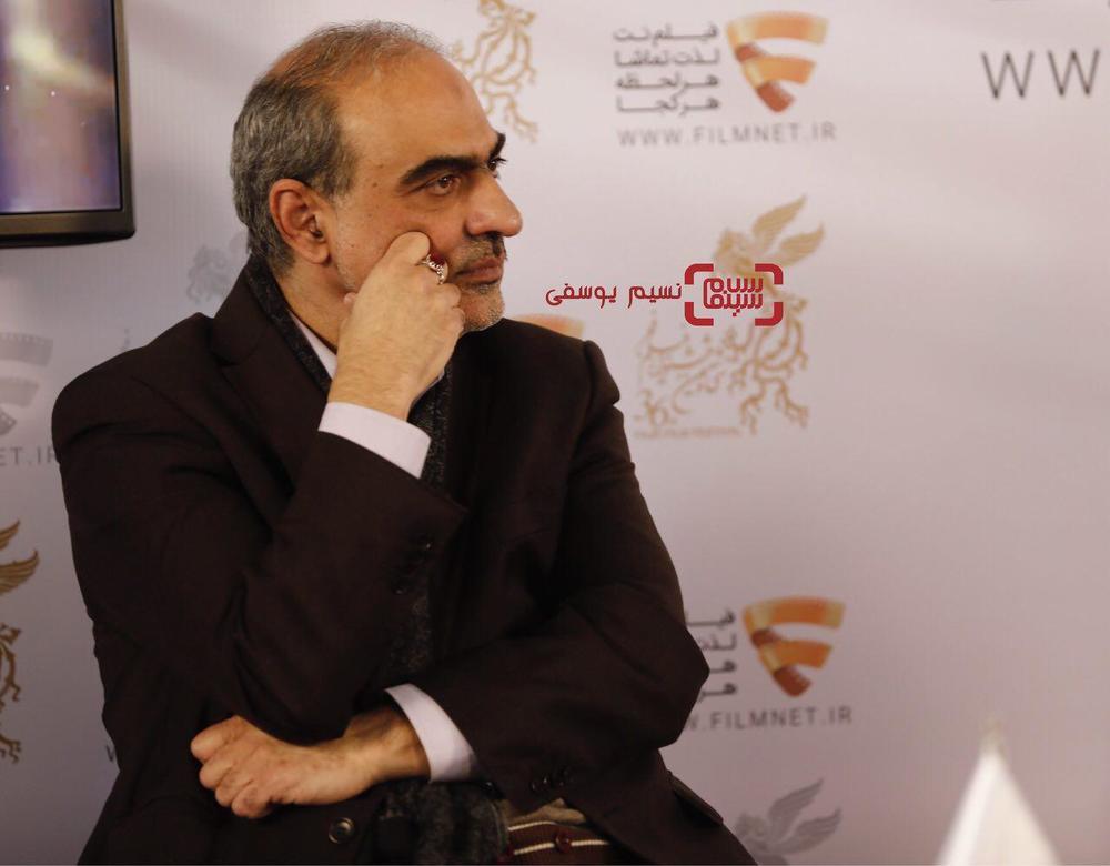 احمدرضا معتمدی در نشست خبری فیلم «سوء تفاهم» در برنامه دو قدم تا سیمرغ در سینما ملت
