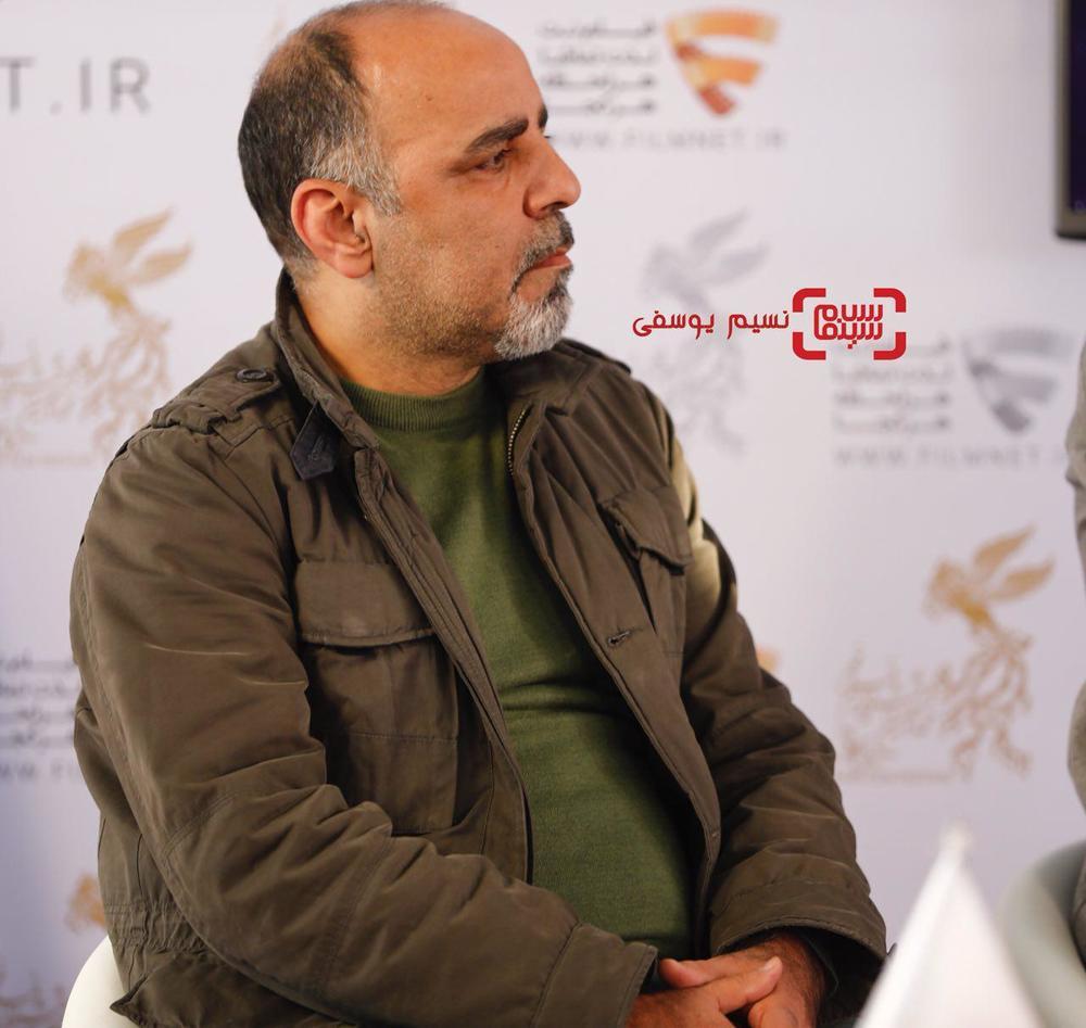 جلیل شعبانی در نشست خبری فیلم «سوء تفاهم» در برنامه دو قدم تا سیمرغ در سینما ملت