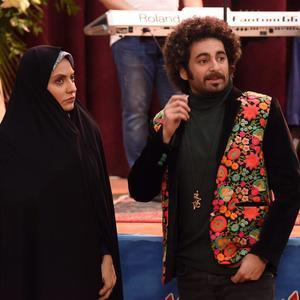 مهناز افشار و هومن شاهی در سریال «گلشیفته»