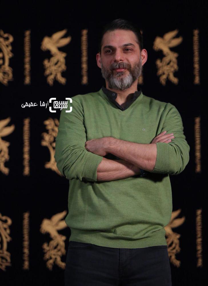 پیمان معادی در اکران فیلم «بمب یک عاشقانه» در جشنواره فیلم فجر 36