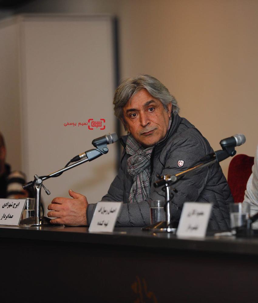 ایرج شهرزادی در نشست خبری فیلم «بمب یک عاشقانه» در جشنواره فیلم فجر 36