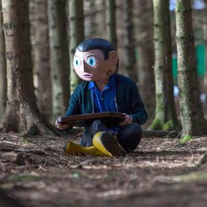 مایکل فاسبندر در نمایی از فیلم سینمایی« فرانک »