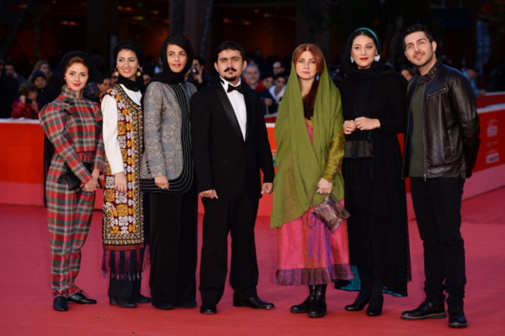 عوامل فیلم گس در هشتمین جشنواره فیلم رم