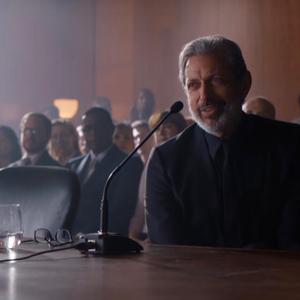 جف گلدبلوم در نمایی از فیلم سینمایی « دنیای ژوراسیک: سقوط پادشاهی»