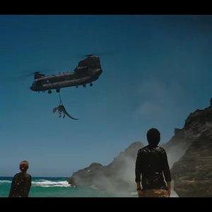 نمایی از فیلم اکشن « دنیای ژوراسیک: سقوط پادشاهی»